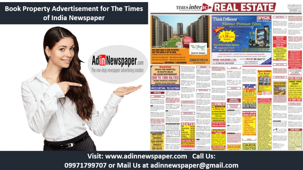 TOI Property Advertisement