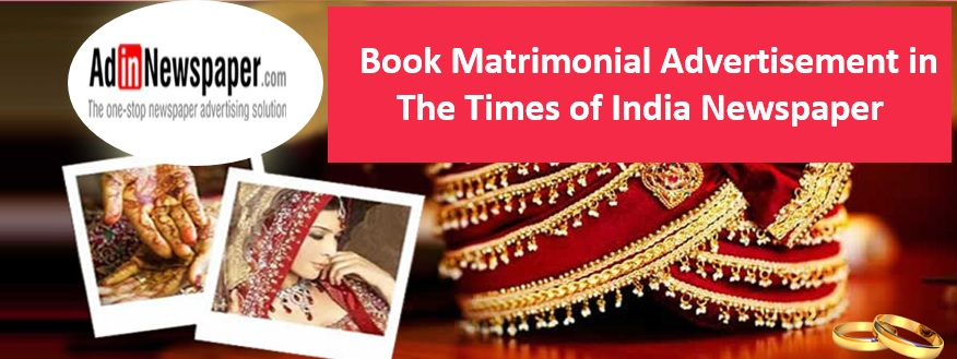 Times of India Matrimonial Ads
