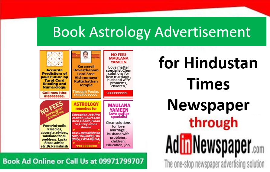 Can't think of ways to promote your services? Book Astrology Ads in