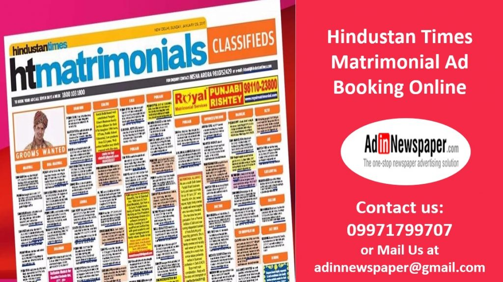 Hindustan-Times-Matrimonial-Advertisement