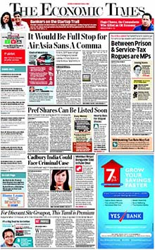 Economic Times Classified Advertisement
